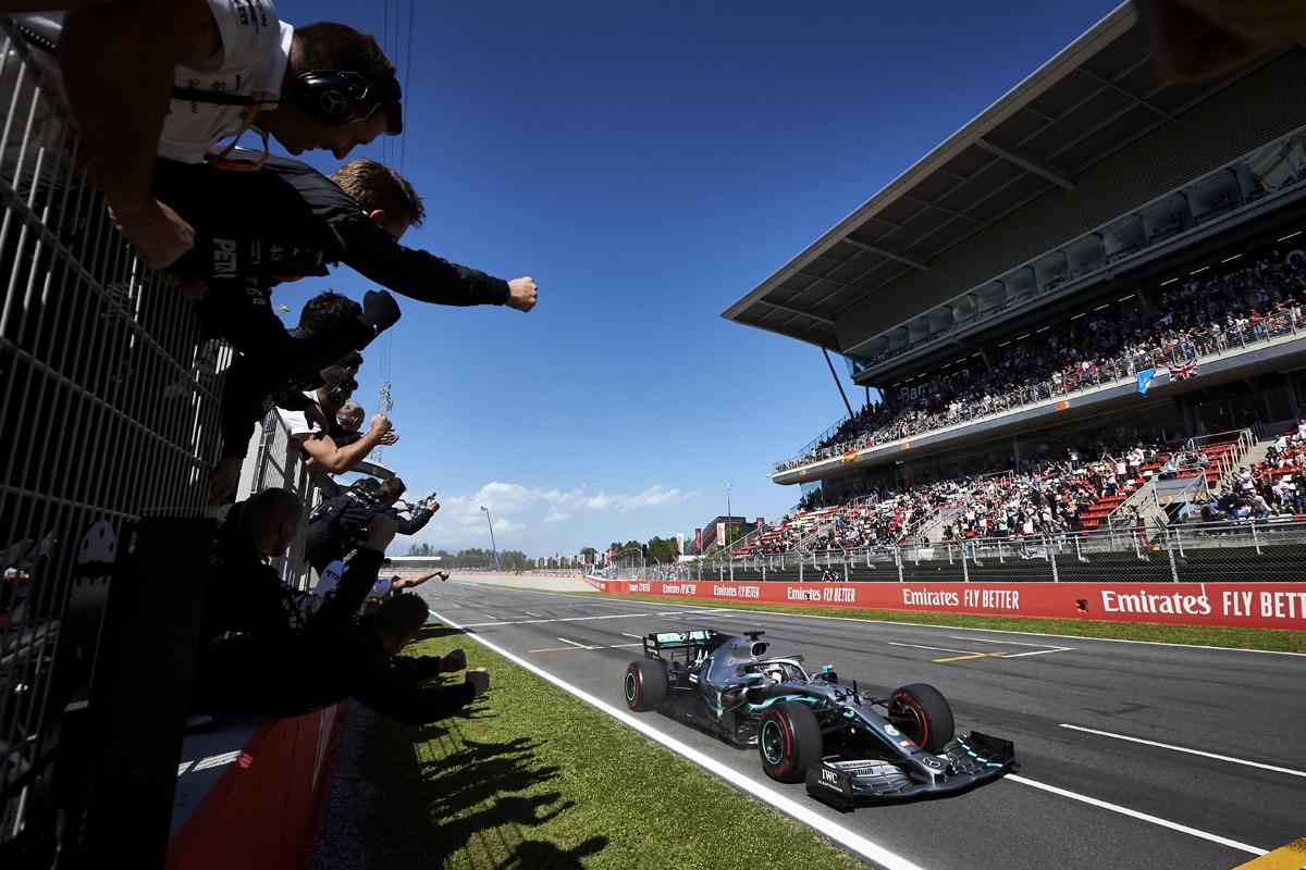 2019年 F1 スペインGP 決勝