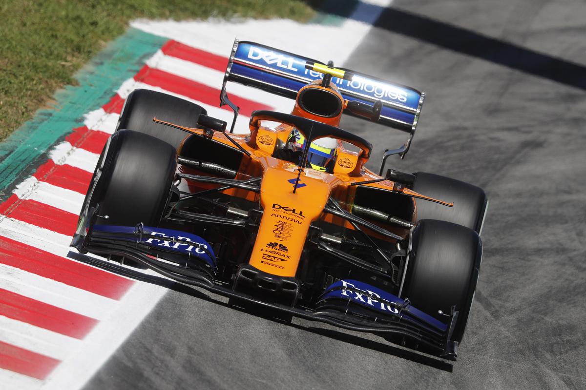 F1 マクラーレン スペインGP
