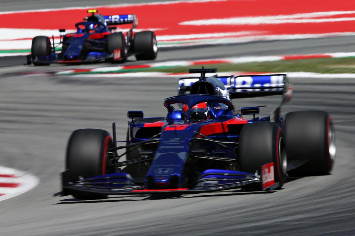 F1 トロロッソ・ホンダ スペインGP