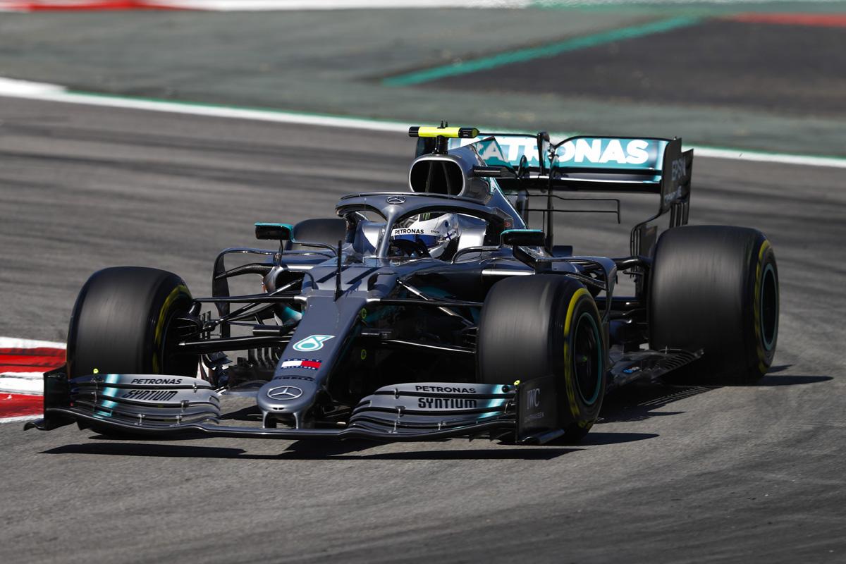 F1 メルセデス バルテリ・ボッタス