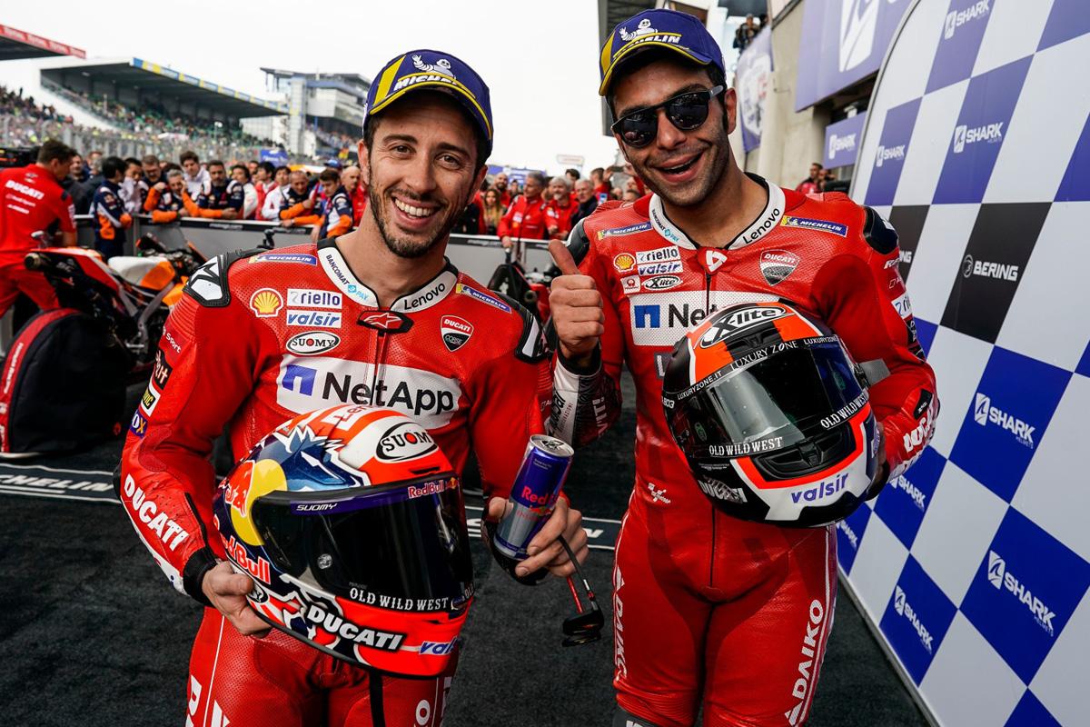 MotoGP ドゥカティ フランスGP