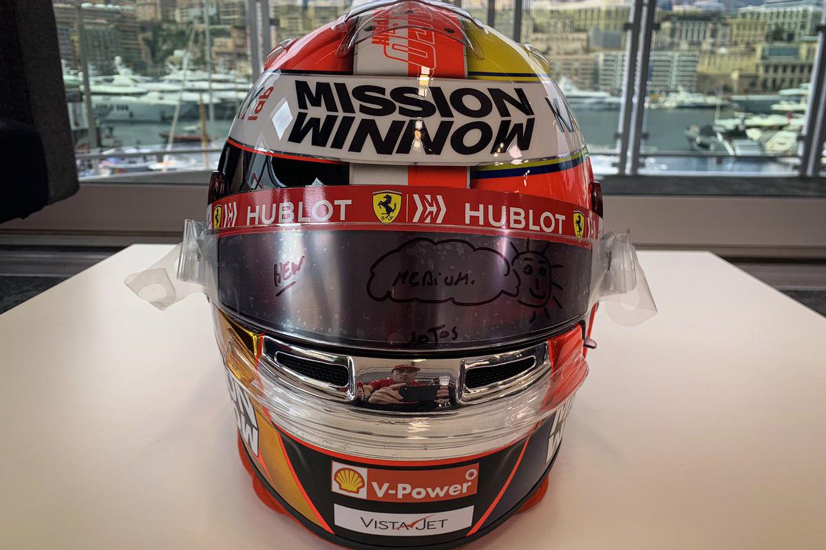 F1 シャルル・ルクレール モナコGP