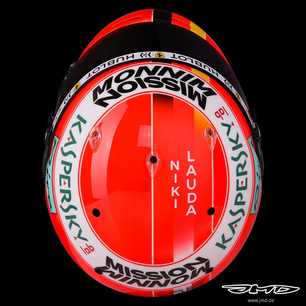 セバスチャン・ベッテル 2019年 F1モナコGP ヘルメット ニキ・ラウダ