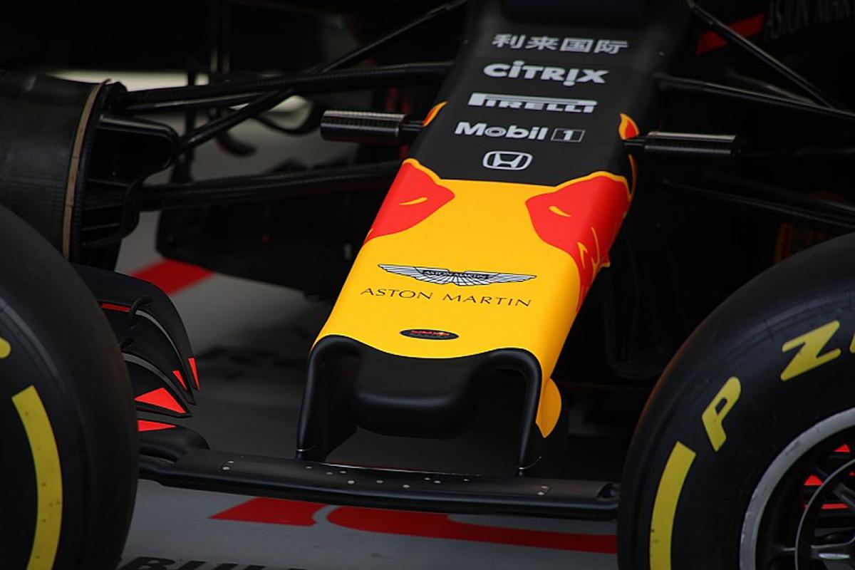 レッドブル・ホンダ 2019年 F1モナコGP ノーズ