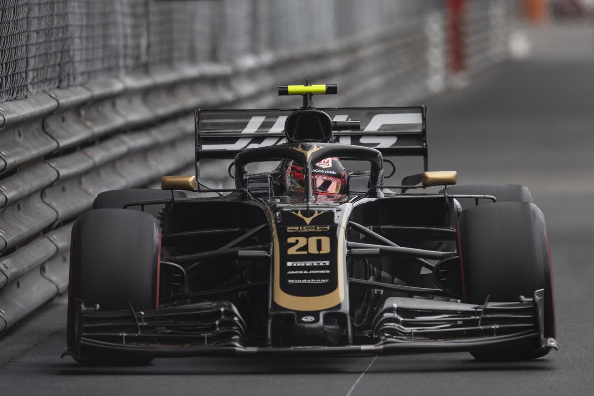 F1 ハースF1チーム モナコGP