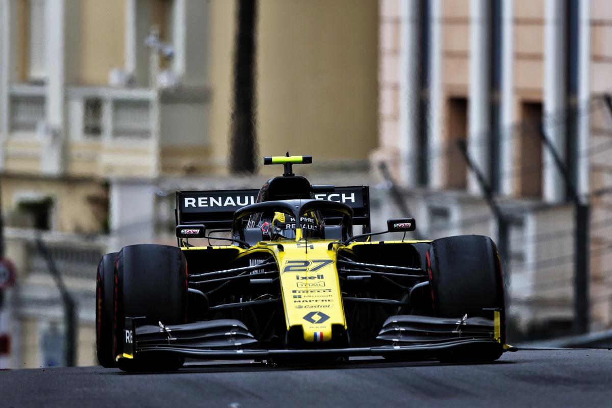 F1 ルノーF1 モナコGP
