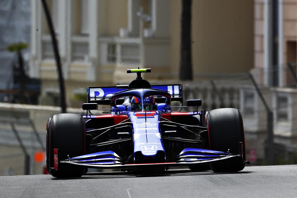 F1 トロロッソ・ホンダ モナコGP