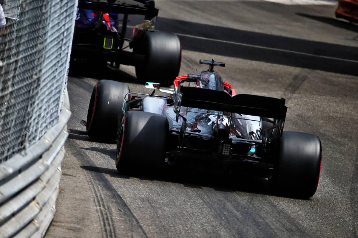 F1 モナコGP タイヤ