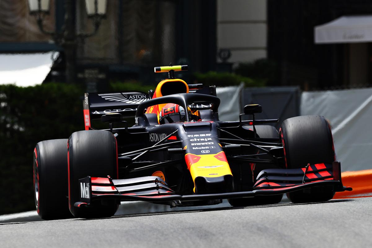 F1 レッドブル・ホンダ モナコGP