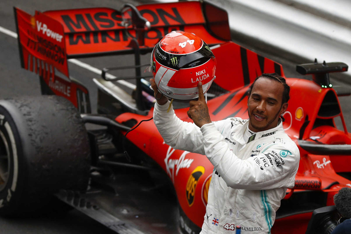 F1 ルイス・ハミルトン ニキ・ラウダ