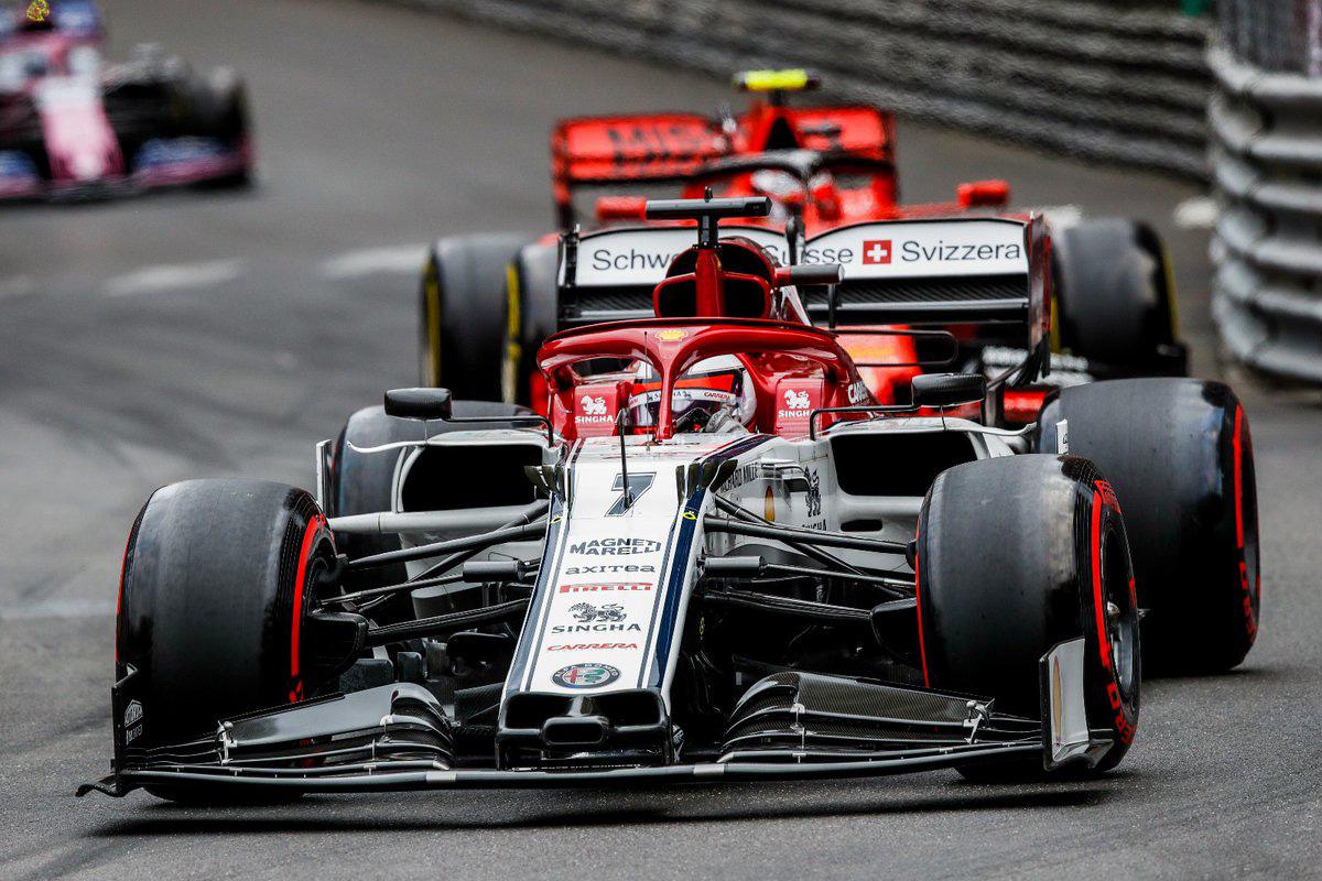 F1 アルファロメオ・レーシング モナコGP