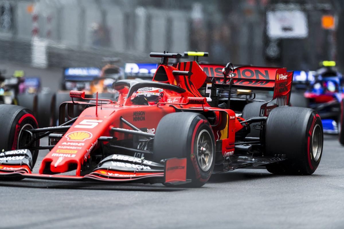F1 フェラーリ モナコGP