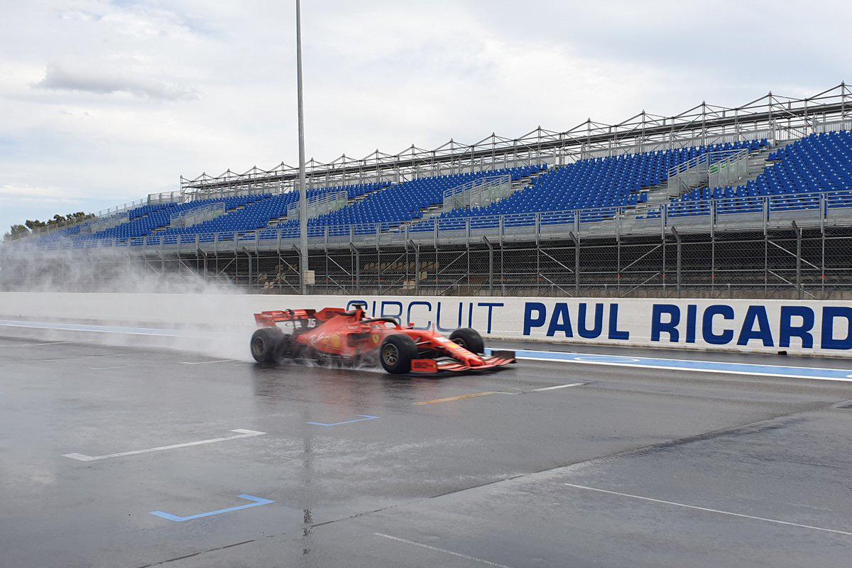 Formula1 2020 Tyre Testing