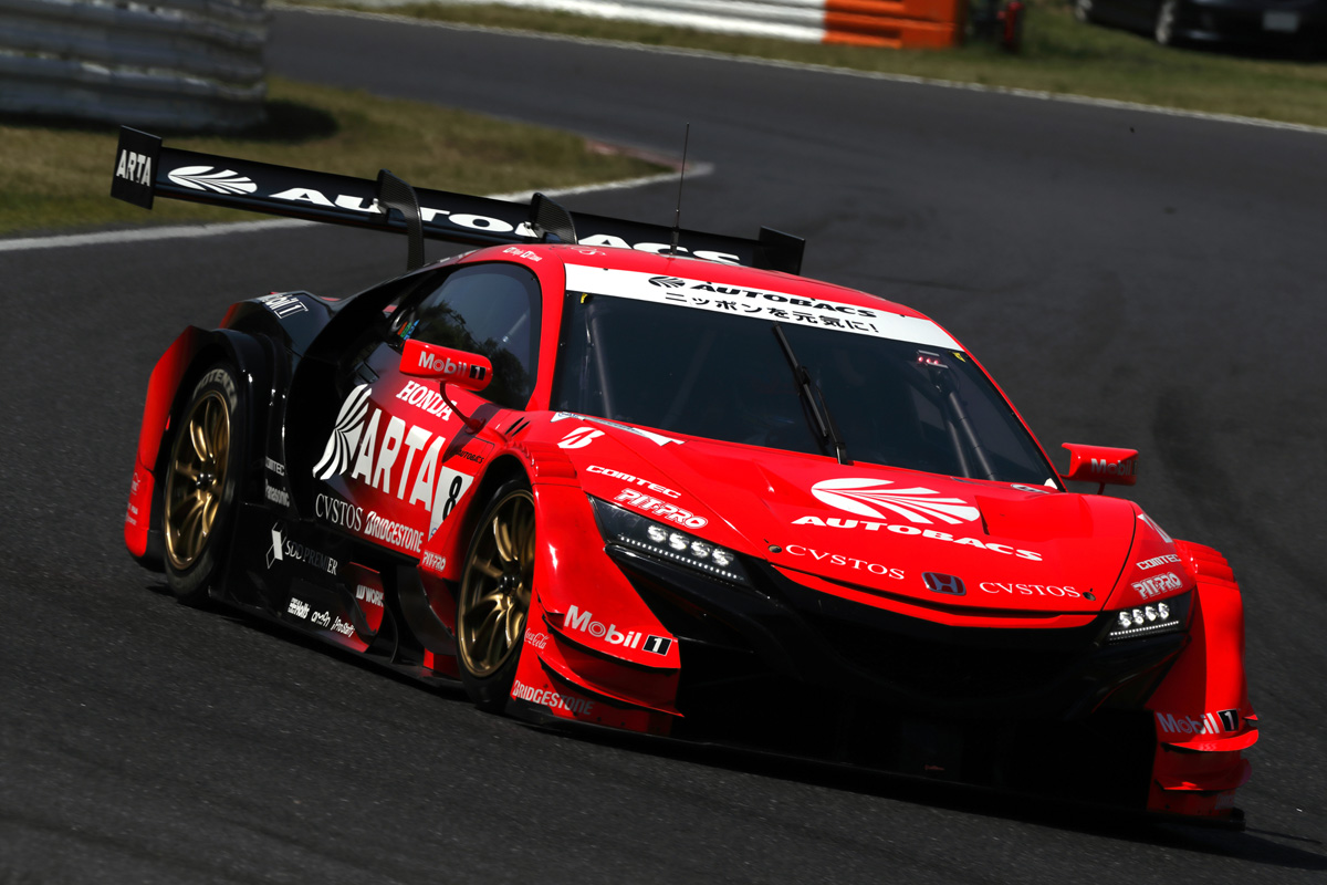 SUPER GT ホンダ 鈴鹿サーキット