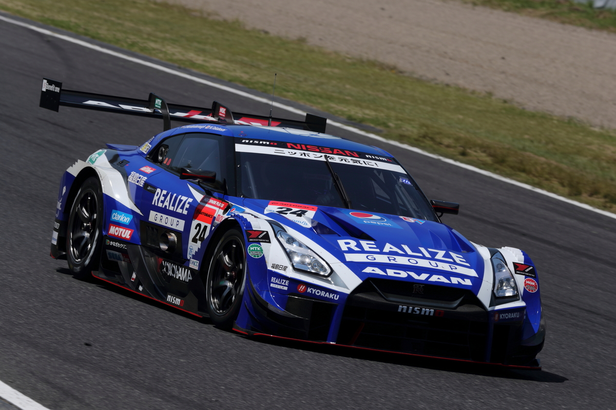SUPER GT 日産 鈴鹿サーキット