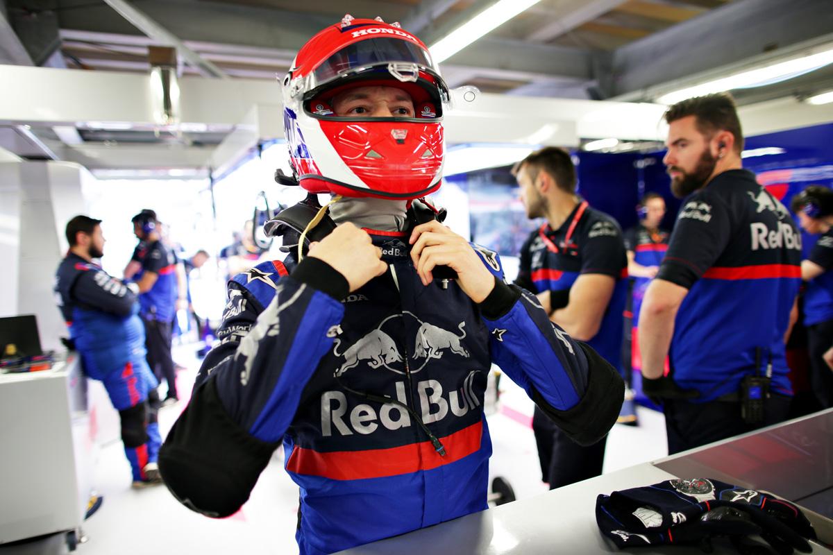 F1 ダニール・クビアト トロロッソ