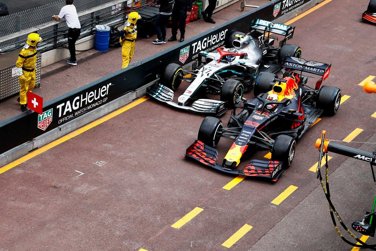 F1 マックス・フェルスタッペン バルテリ・ボッタス