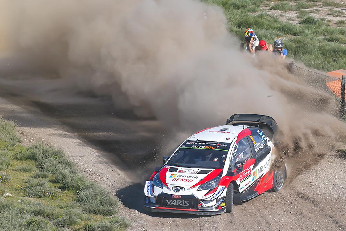 WRC トヨタ ラリー・ポルトガル