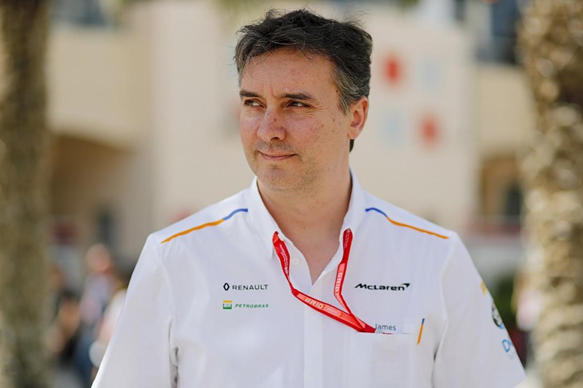 F1 マクラーレン ジェームス・キー