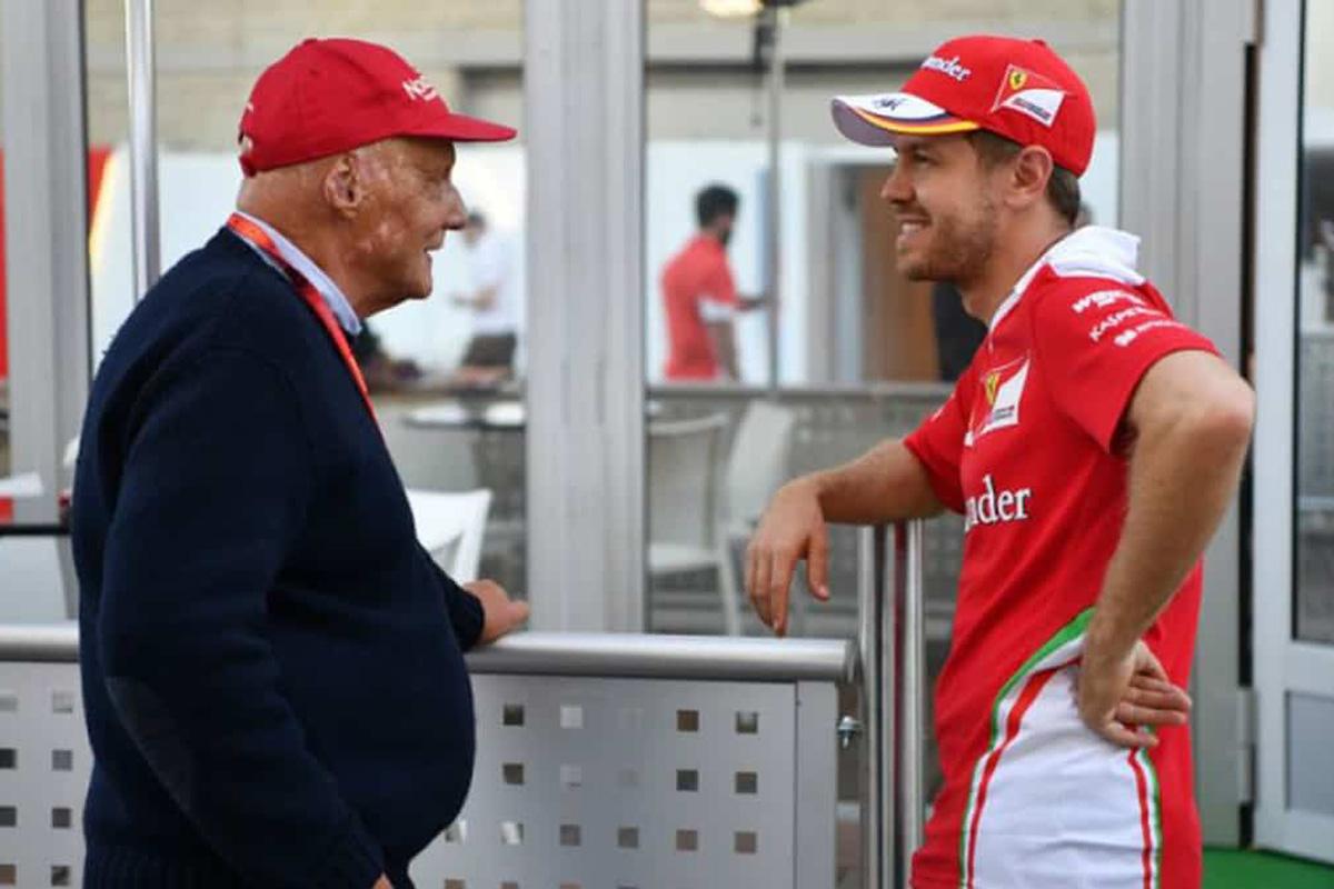 F1 セバスチャン・ベッテル ニキ・ラウダ