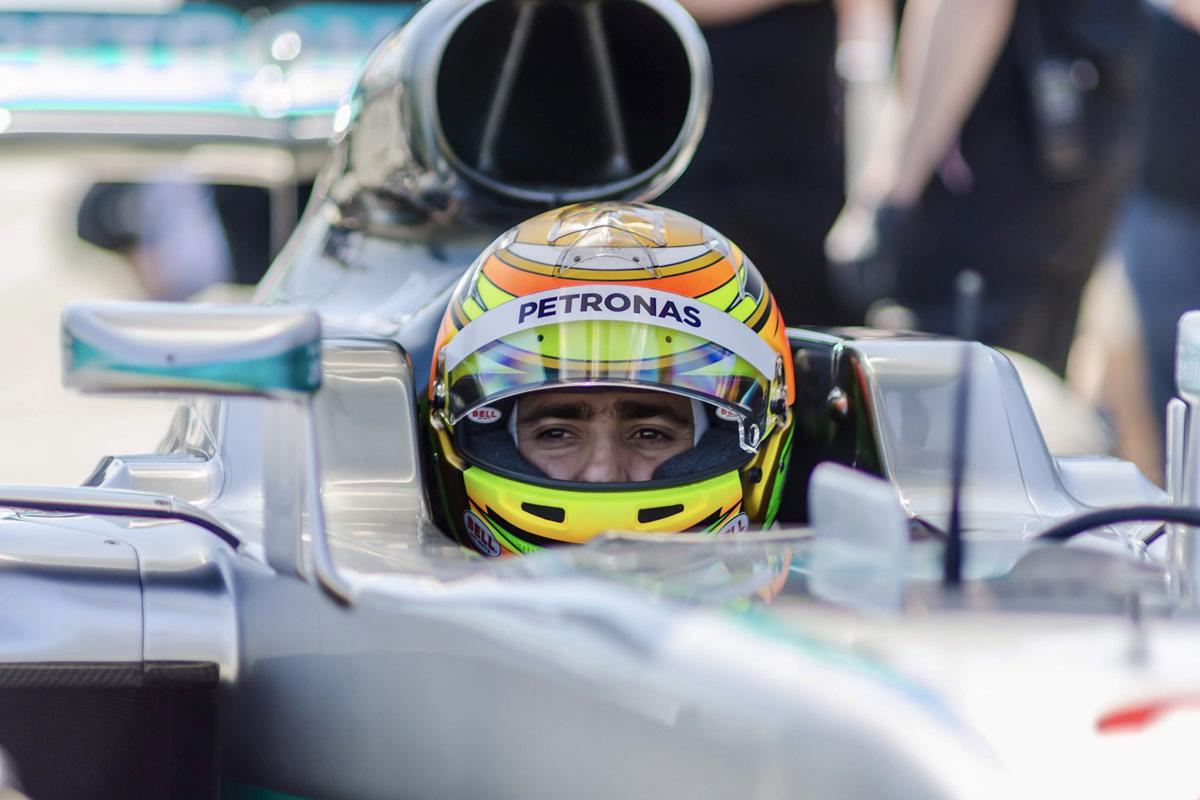 F1 エステバン・グティエレス メルセデス