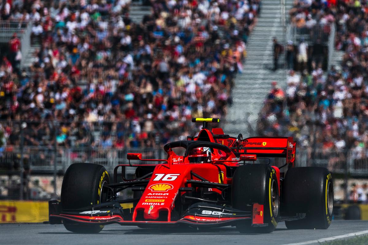 F1 フェラーリ カナダGP