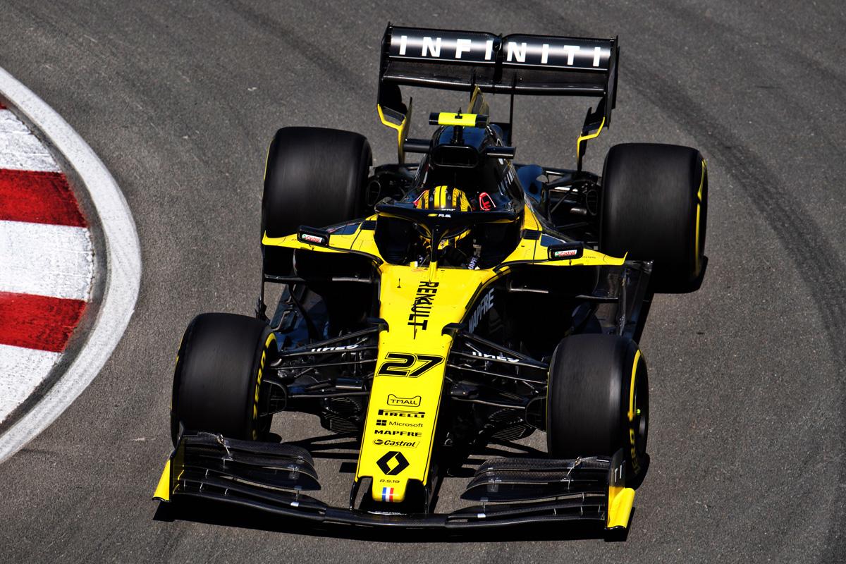 F1 ルノーF1 カナダGP