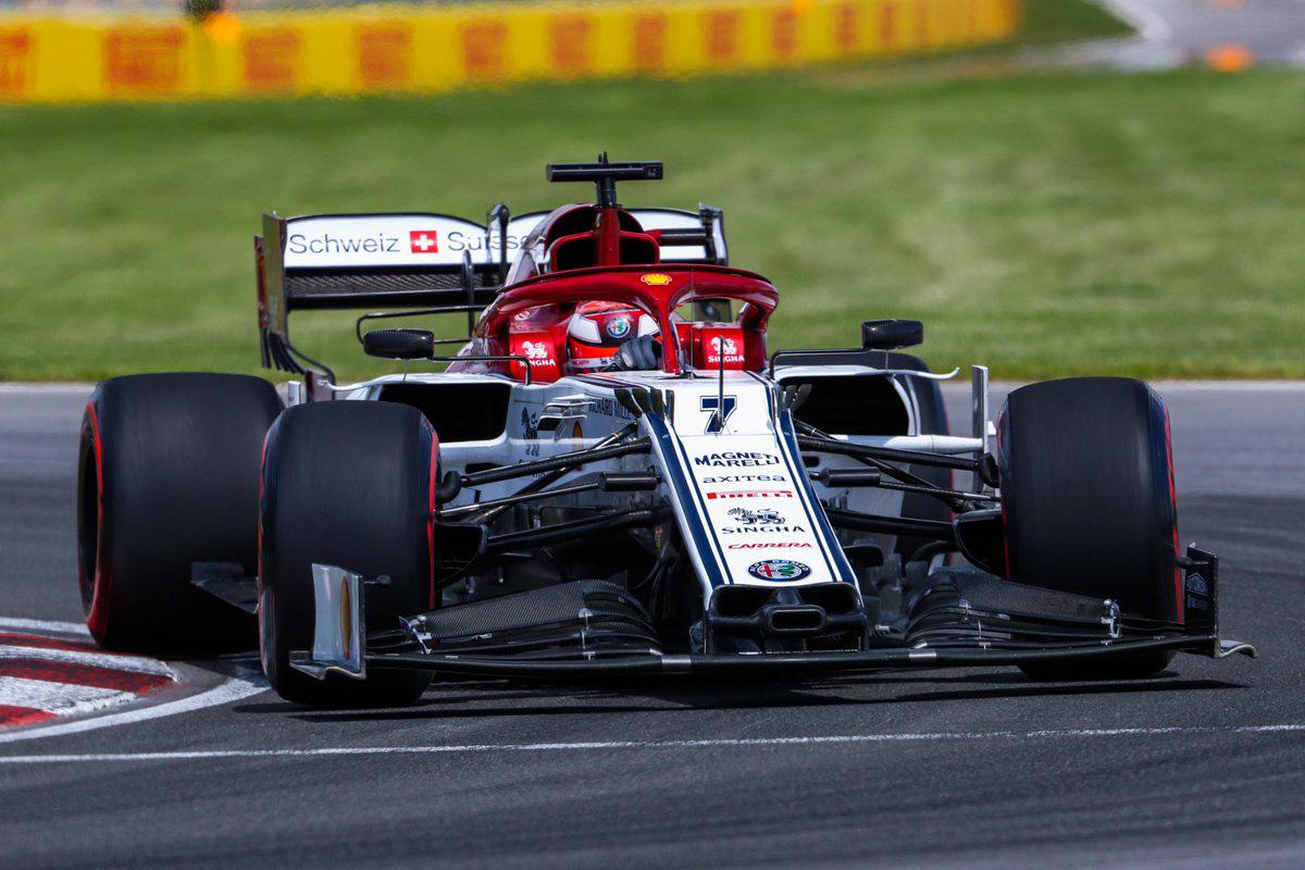 F1 アルファロメオ・レーシング カナダGP