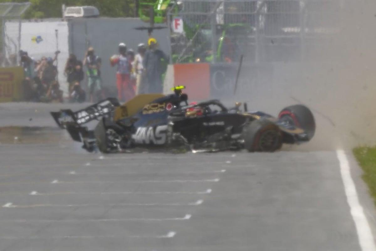 F1 ケビン・マグヌッセン カナダGP