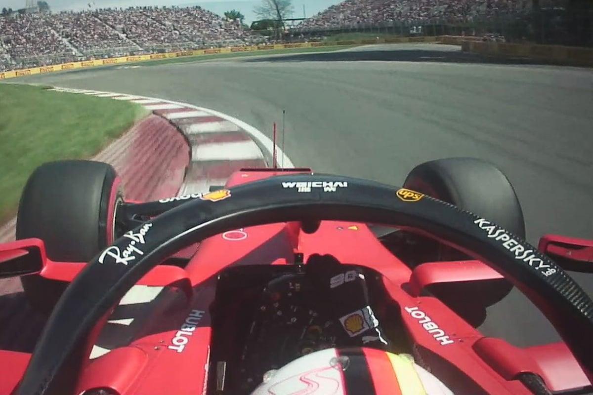 F1 セバスチャン・ベッテル カナダGP