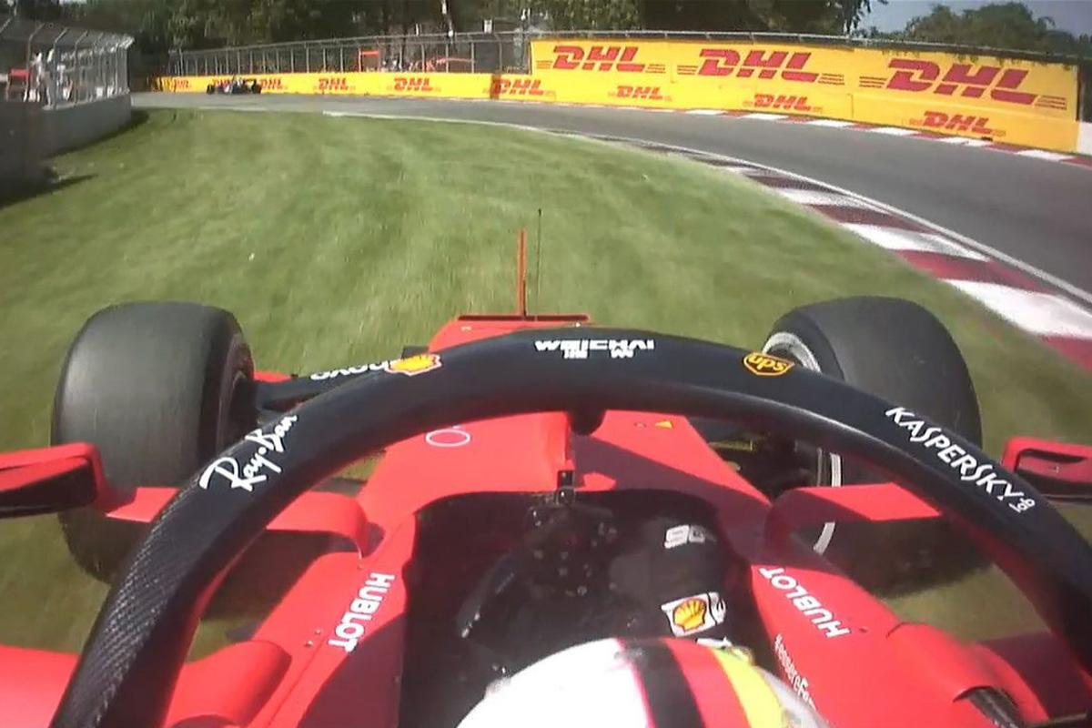 F1 ベッテル カナダGP 動画