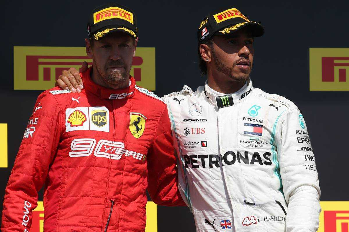 F1 ルイス・ハミルトン セバスチャン・ベッテル