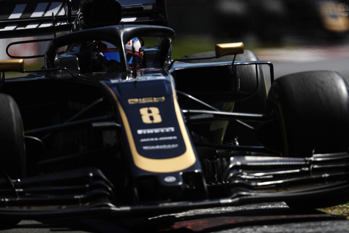 F1 ハースF1チーム カナダGP