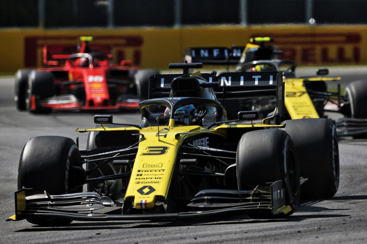 F1 ルノーF1チーム カナダGP