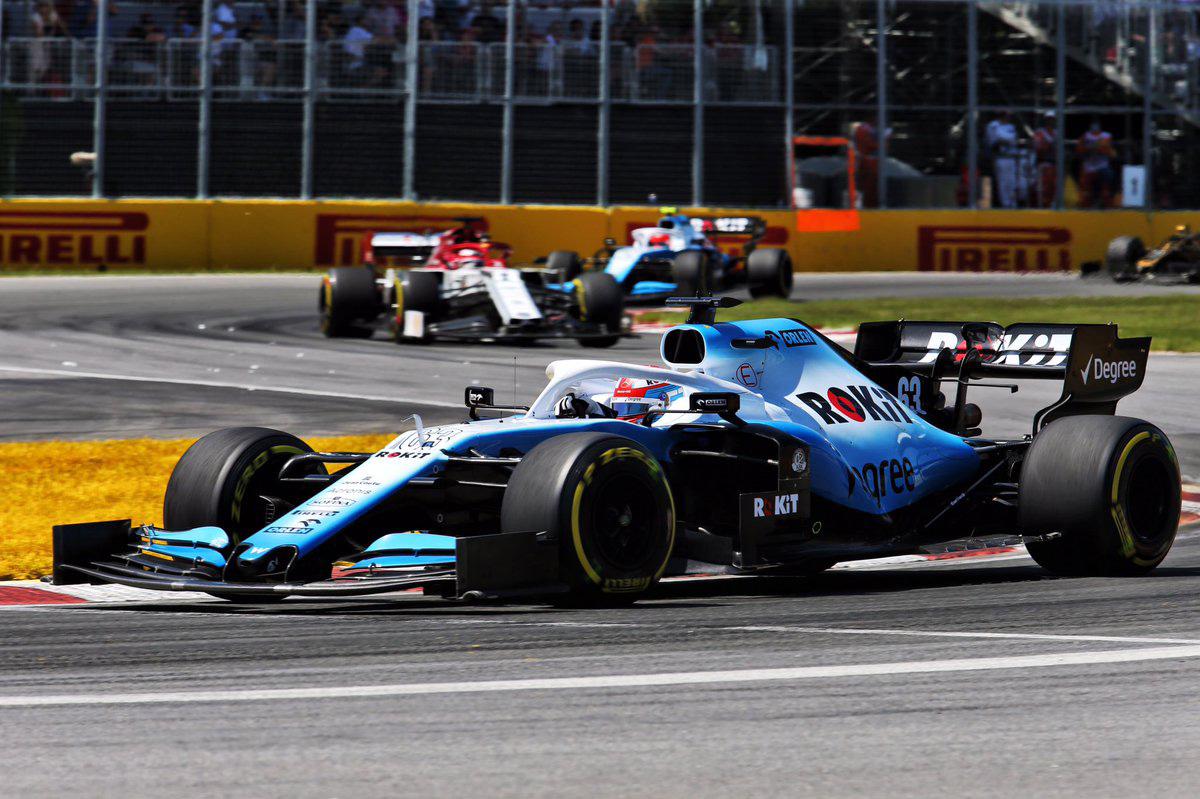 F1 ウィリアムズ カナダGP