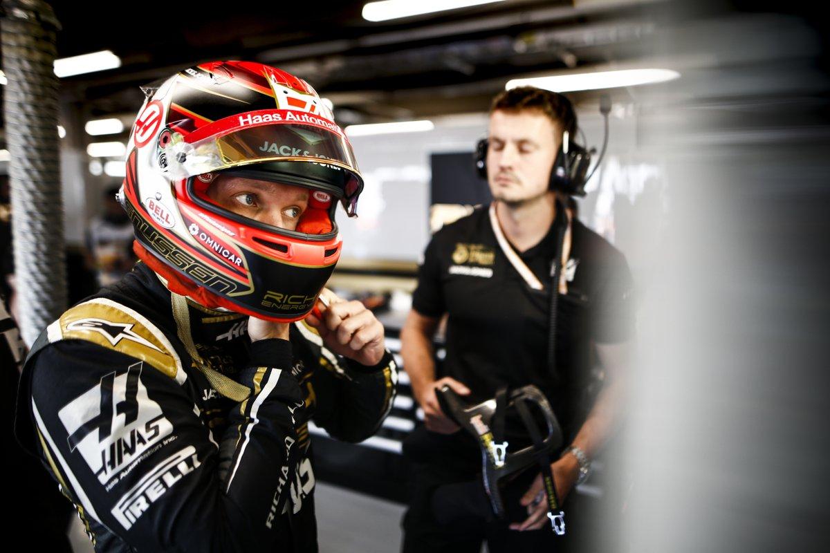 F1 ハースF1チーム ケビン・マグヌッセン