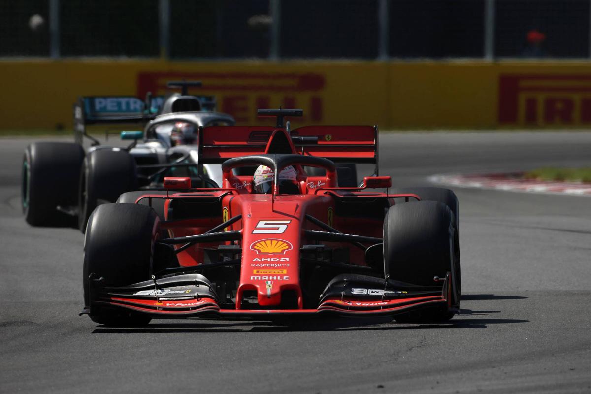 F1 フェラーリ セバスチャン・ベッテル