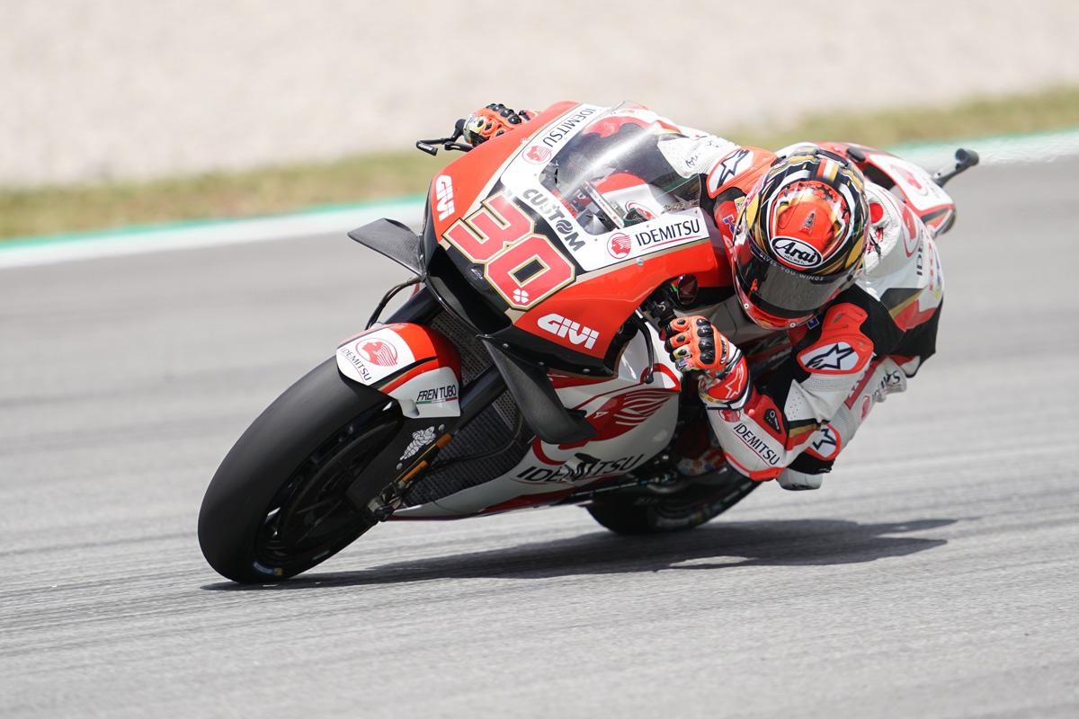 MotoGP ホンダ カタルニアGP 中上貴晶