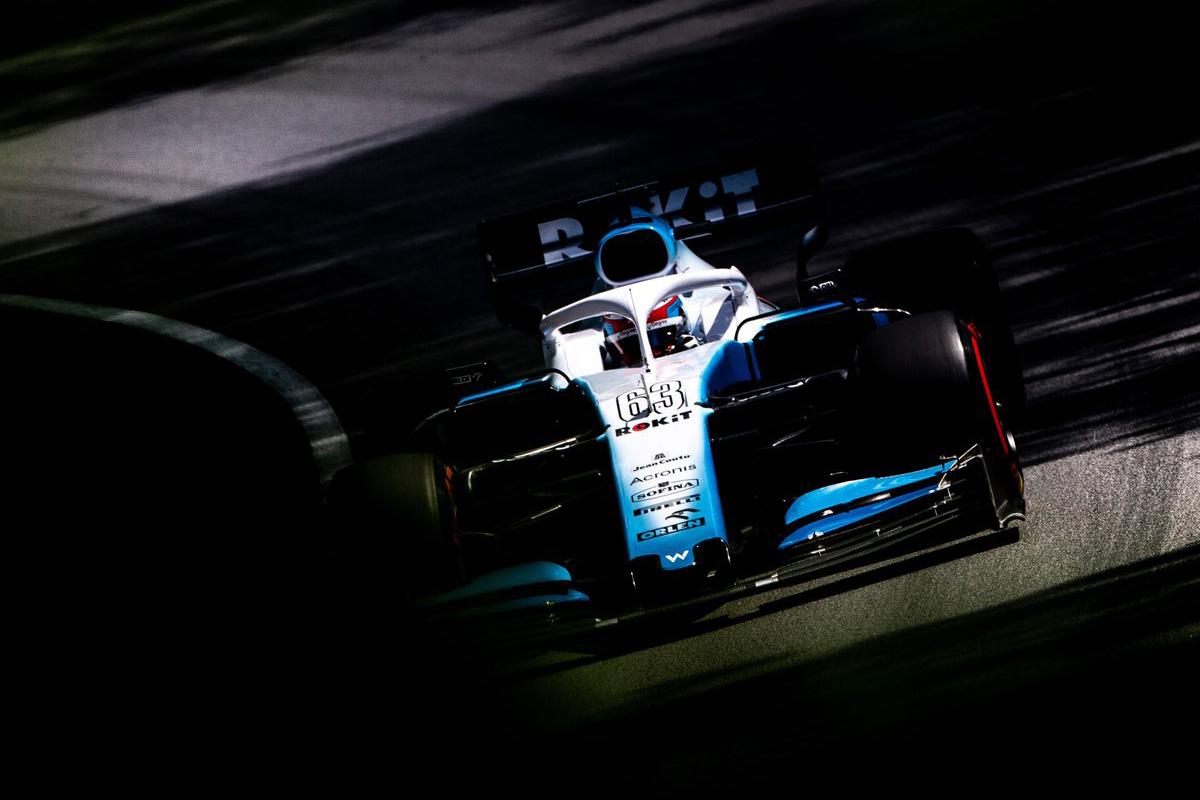 F1 ジョージ・ラッセル ウィリアムズF1