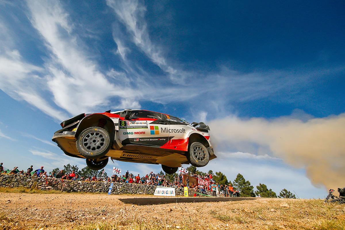 WRC トヨタ ラリー・イタリア