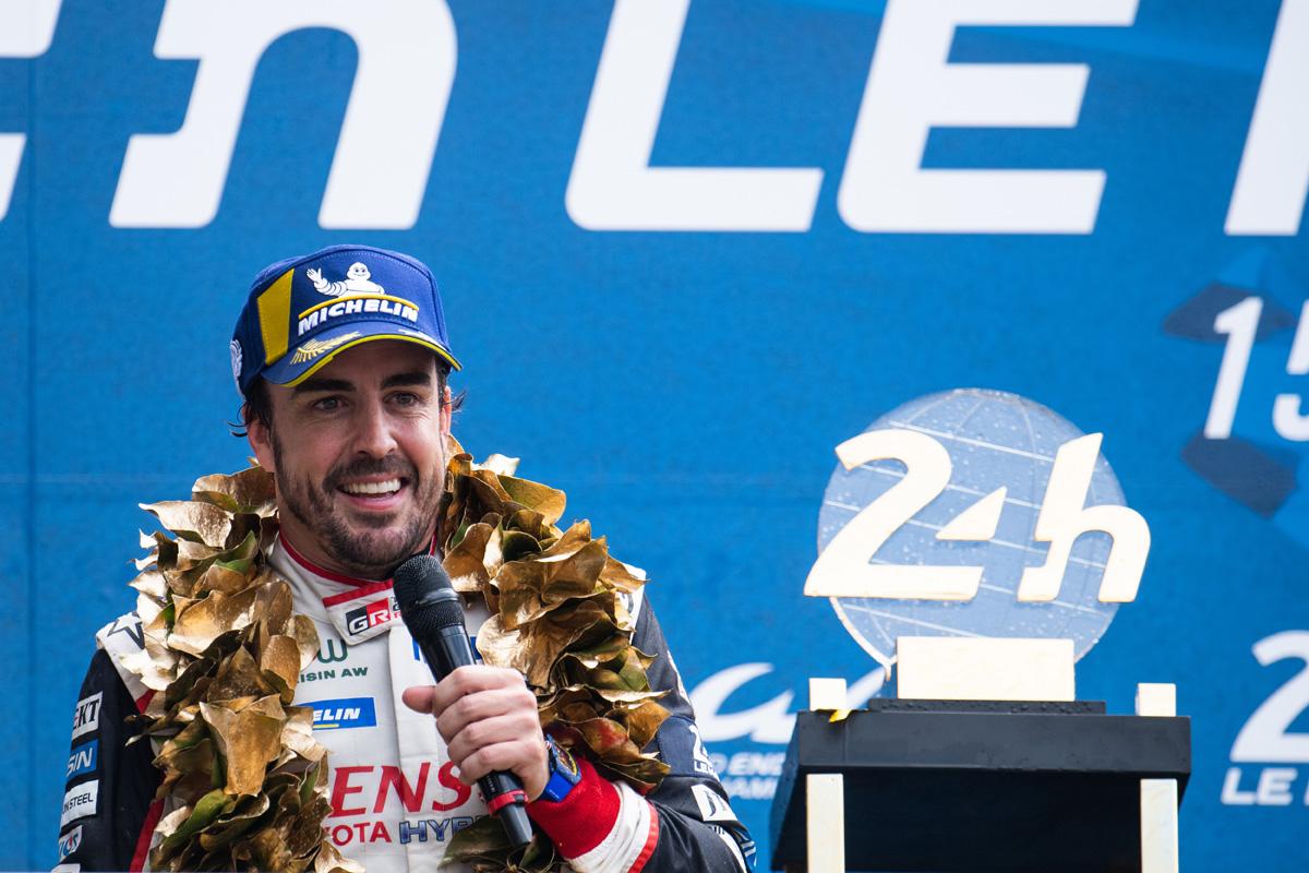F1 フェルナンド・アロンソ ル・マン24時間レース