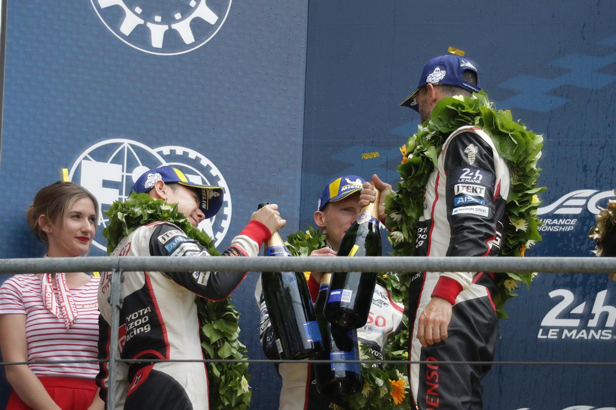 F1 小林可夢偉 ル・マン24時間レース