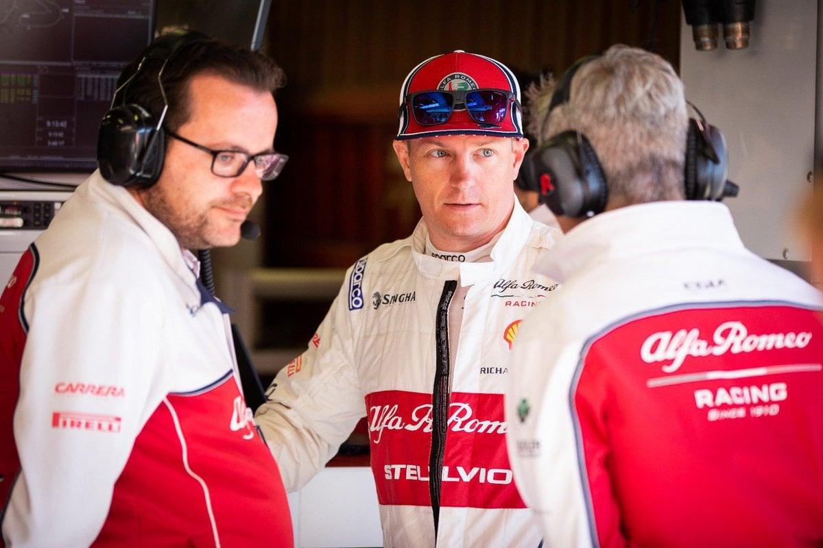 F1 キミ・ライコネン アルファロメオ・レーシング