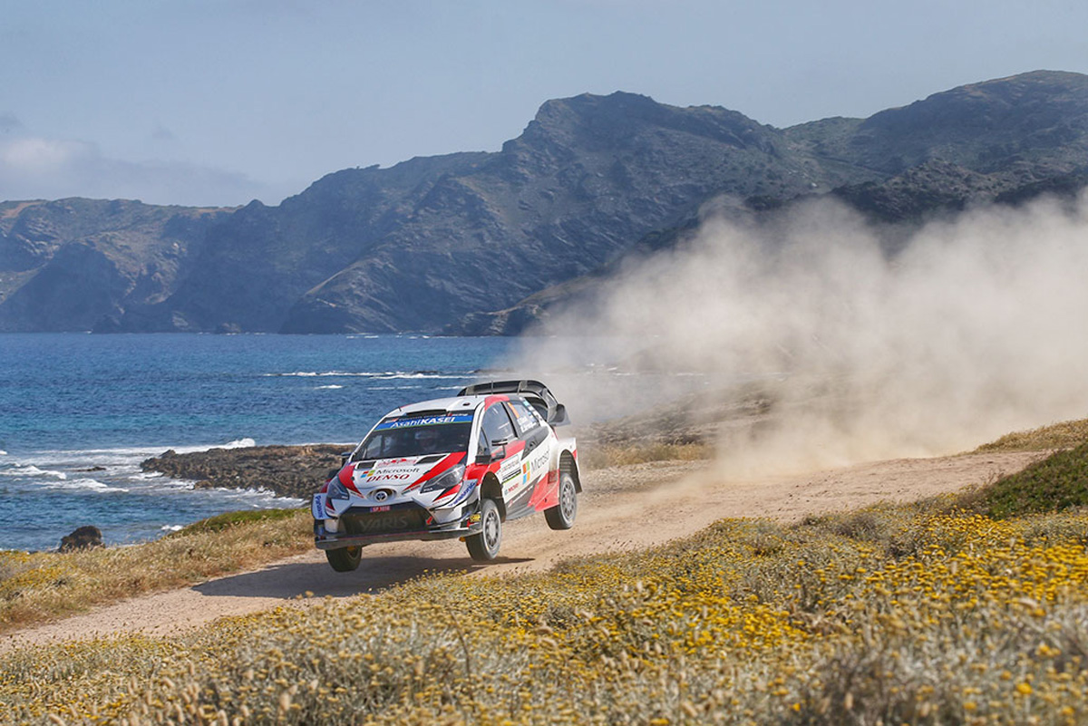 WRC ラリー・イタリア トヨタ