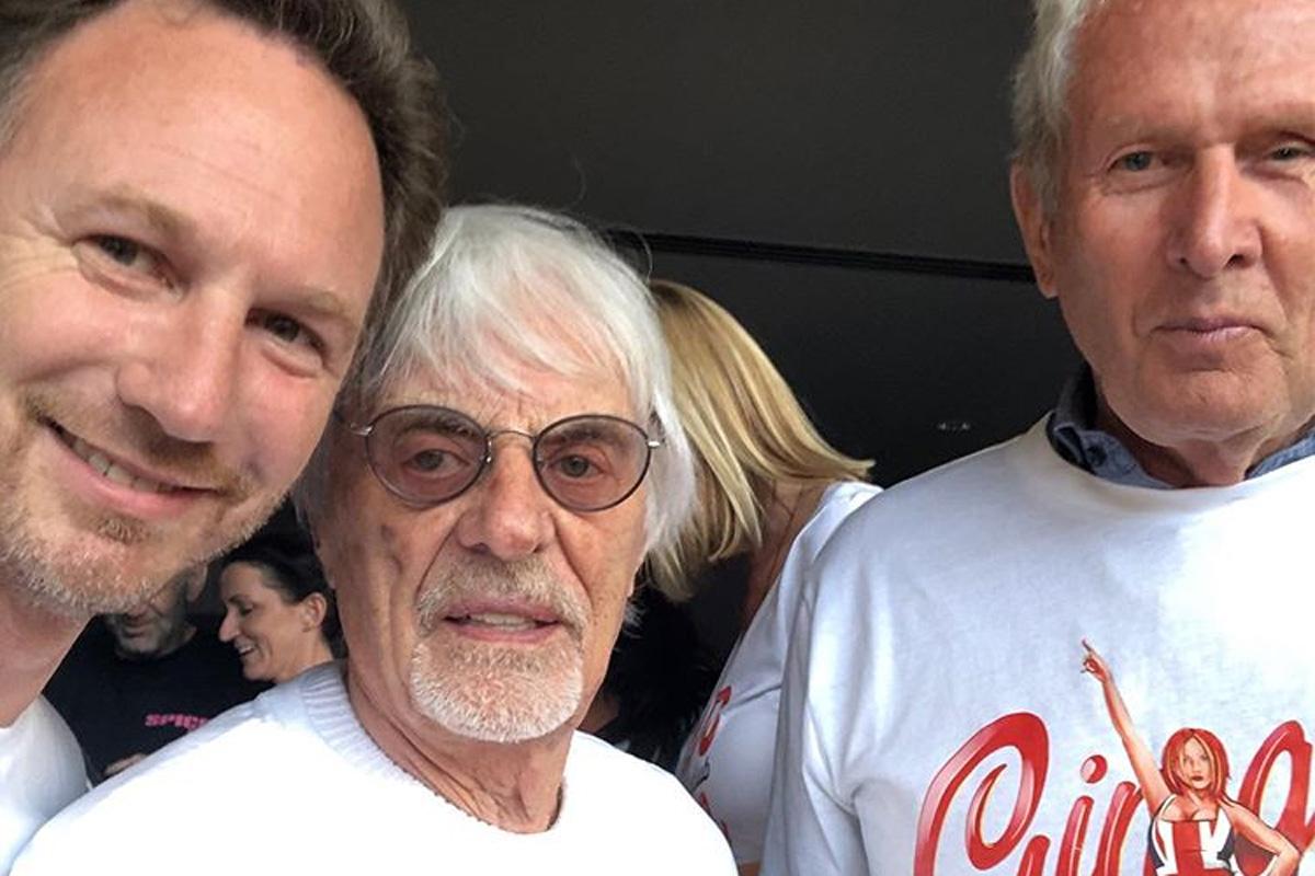 F1 バーニー・エクレストン スパイス・ガールズ レッドブル
