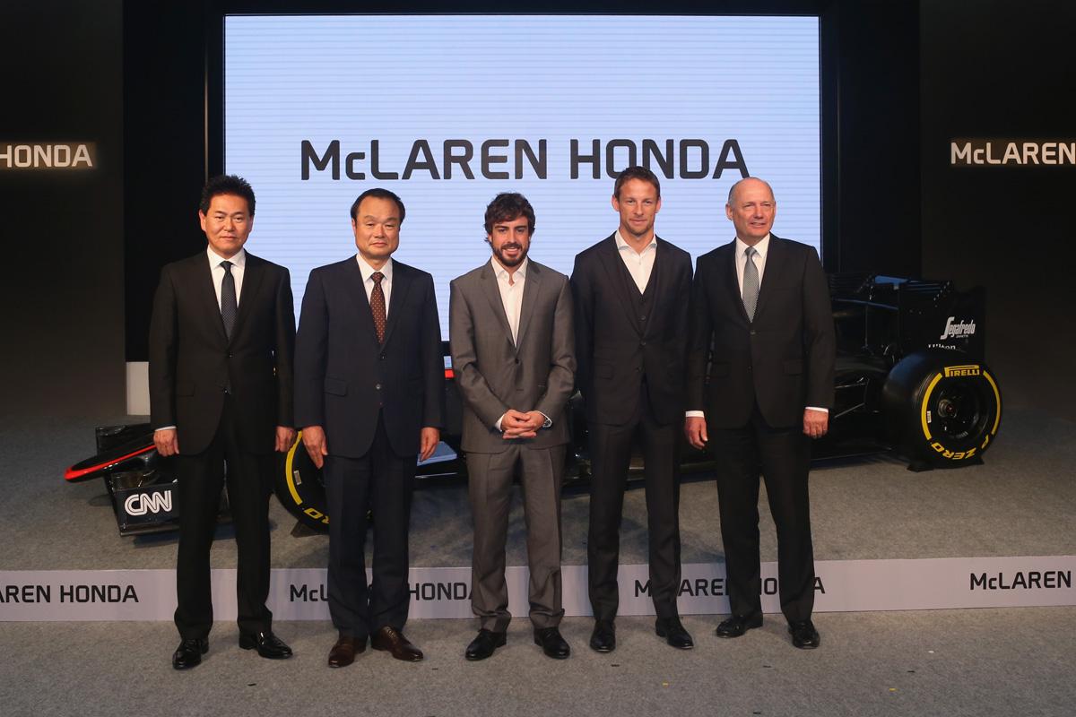 F1 フェルナンド・アロンソ マクラーレン・ホンダ