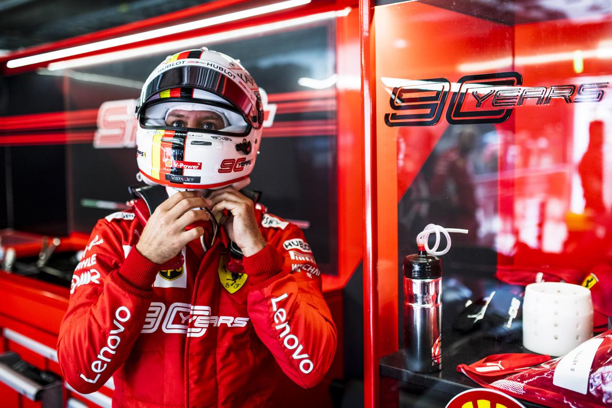 F1 セバスチャン・ベッテル フランスGP