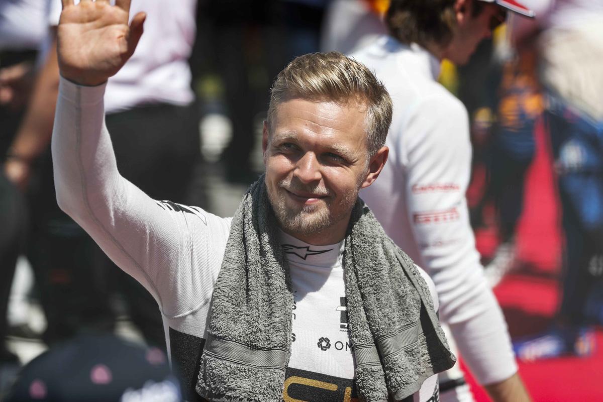 F1 ケビン・マグヌッセン ハースF1チーム