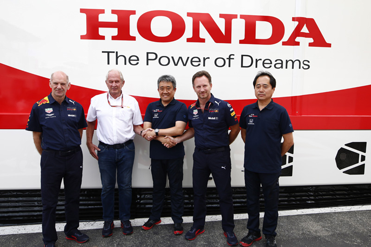 F1 ホンダF1 レッドブル