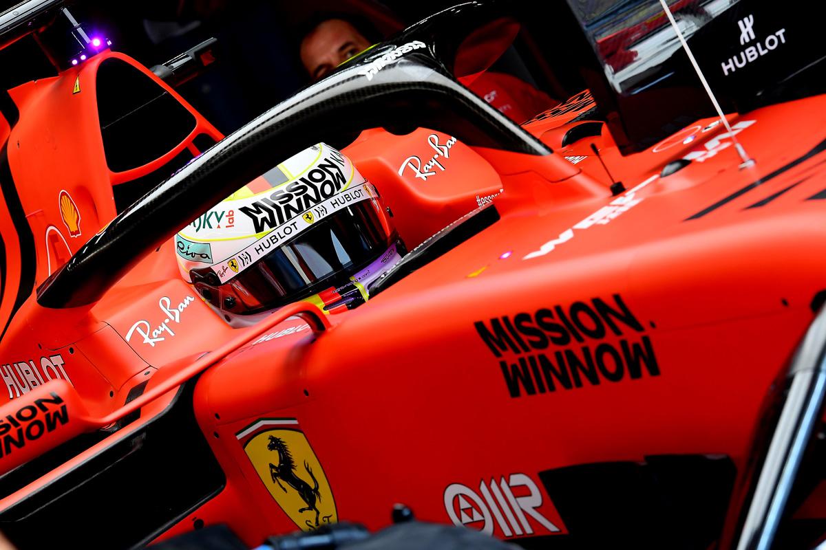 F1 フェラーリ Mission Winnow